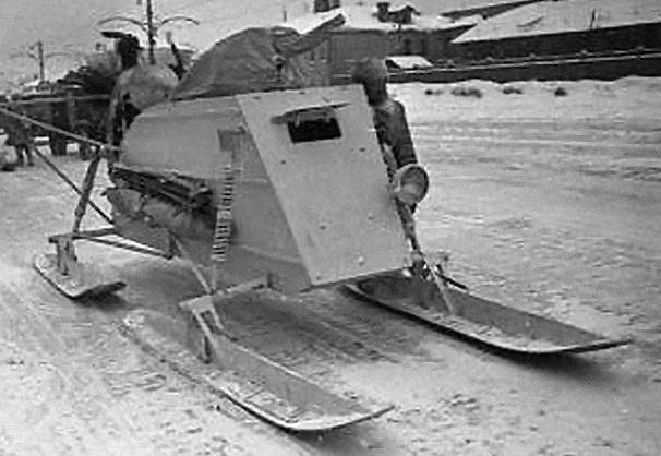 Боевые аэросани НКЛ-26