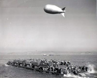 Прикрытие операций высадки десантов аэростатами заграждения