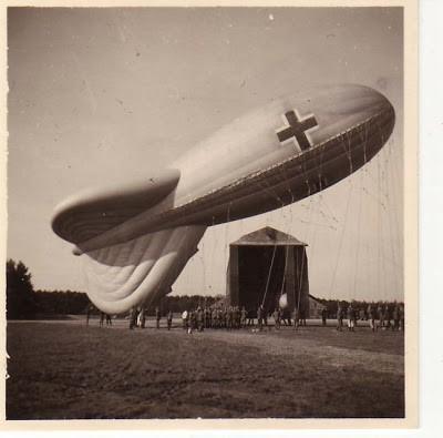 Аэростат артиллерийского наблюдения (Fesselballon)