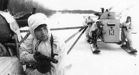 Боевые аэросаниНКЛ-26