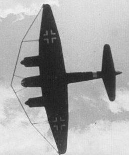 Junkers Ju-88 A с параваном.