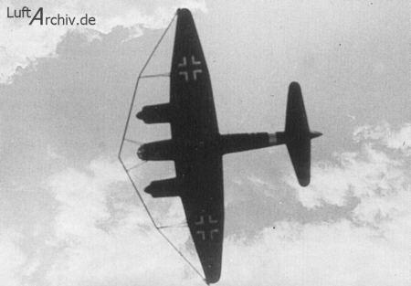 Junkers Ju-88 A с параваном