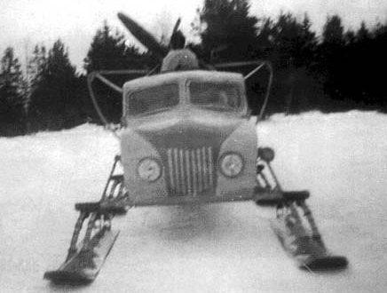 Штабные аэросани НКЛ-38