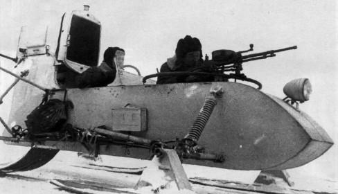 Аэросани РФ-8 (ГАЗ-98)