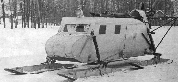 Транспортные аэросани НКЛ-16/42