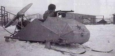 Легкие связные аэросани НКЛ-34