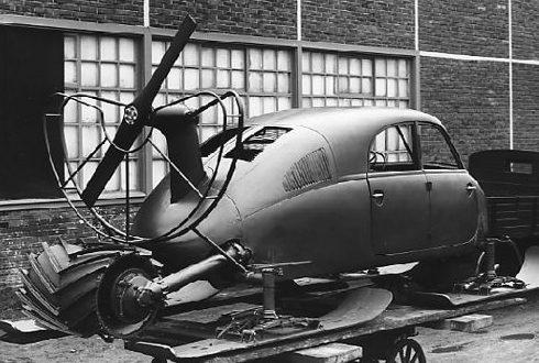 Аэросани «Tatra V855» Опытный образец