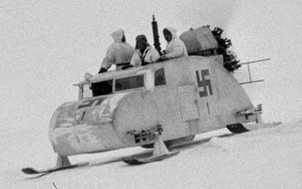 НКЛ-16 на службе у финской армии
