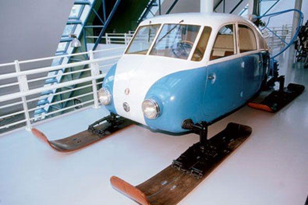 Аэросани «Tatra V855» Рабочая копия