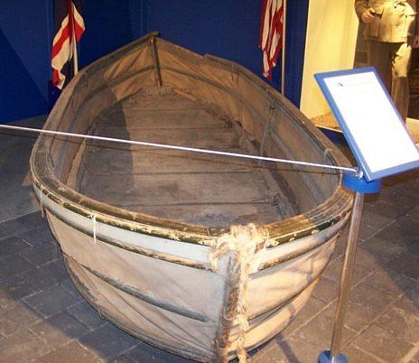 Брезентовая лодка Goatley в сборе