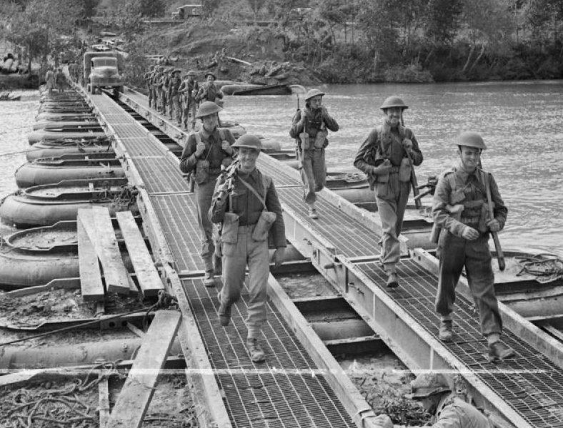 Мосты на пневматических понтонах
