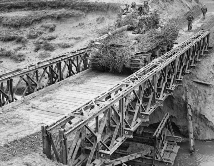 Однопролетный мост Bailey