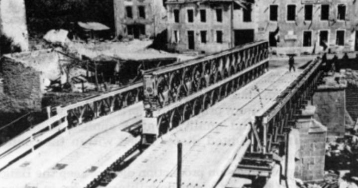 Двухколейный мост Bailey