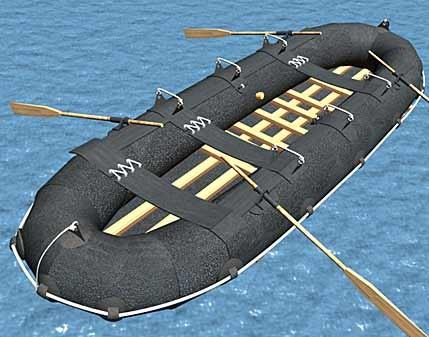 Рисунок десантной лодки ЛГ-12
