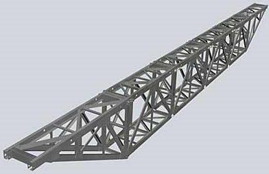 Рисунок фермы моста РММ-4