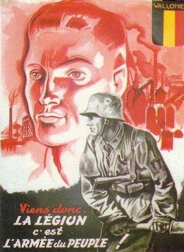 Пропагандисткие плакаты Бельгии.