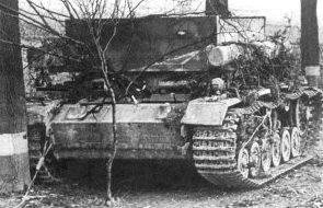 БРЭМ Bergepanzer III