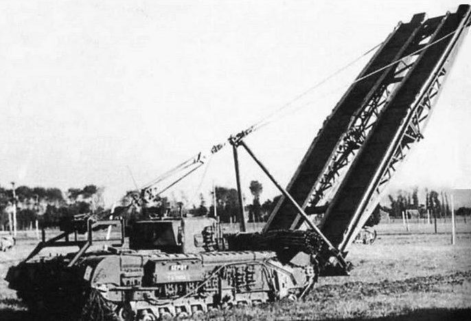 Мостоукладчик Churchill ARMA Mk-III