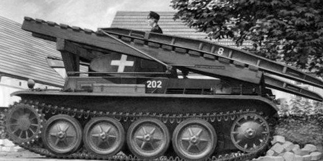 Мостоукладчик Brukenleger II Ausf. D.