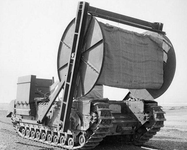 Ковроукладчик на базе танка «Churchill»