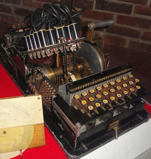 Шифровальная машина 91-shiki ohbun-injiki (Red)