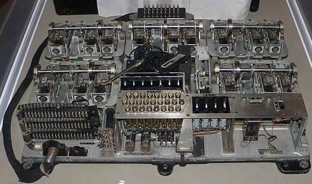 Шифровальная машина JADE