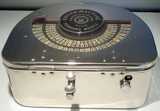 Шифровальная машина Kryha