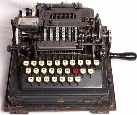 Шифровальная машина Schlüsselgerät 41 (SG-41) в рабочемположении
