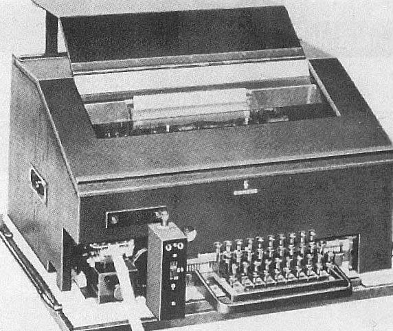 Шифровальная машина-телетайп Т-43