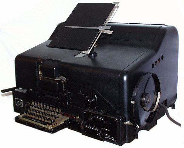 Шифровальная машина-телетайп Geheimfernschreiber (Т-52)
