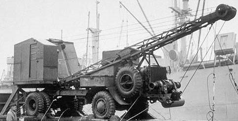 Кран-экскаватор Coleman Model G-55A