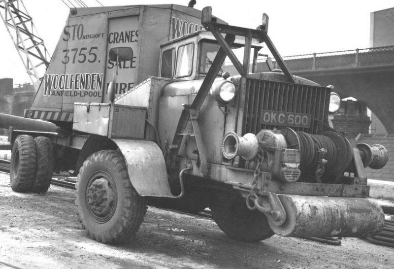 Автокран Coleman Model G-55A