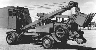 Экскаватор Coleman Model G-55A