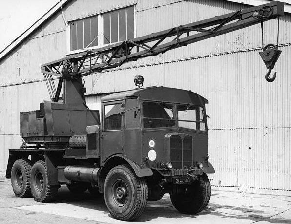 Автокран на базе AEC Matador Coles Mk-VII