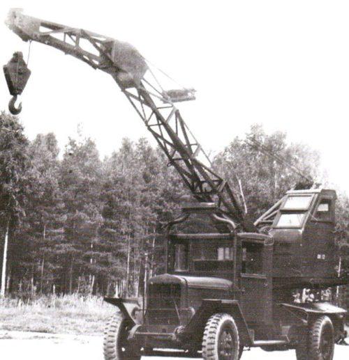 Автокран К-31