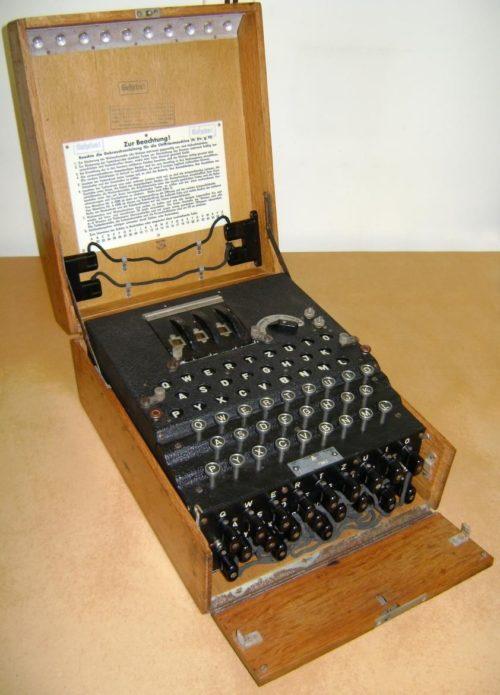 Шифровальная машина Enigma I