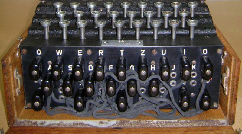 Коммутационная панель машины Enigma