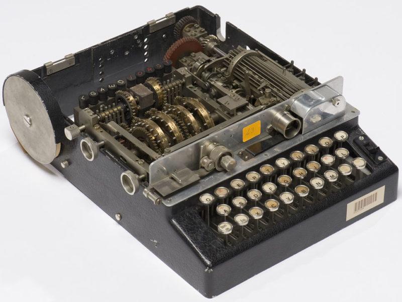 Шифровальная машина Hagelin B-211