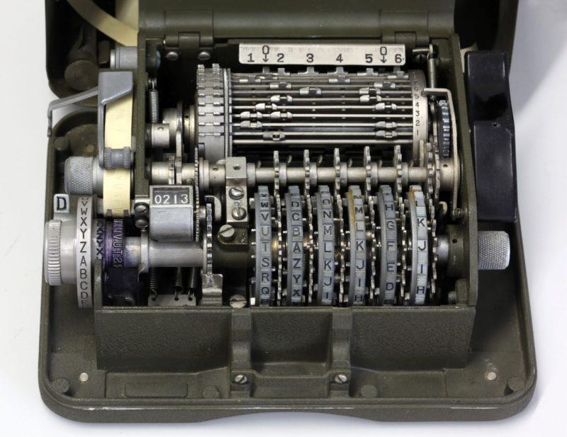 Шифровальная машина M-209 (CSP-1500)