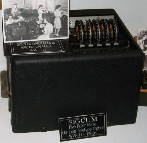 Шифровальная машина SIGCUM (М-228)