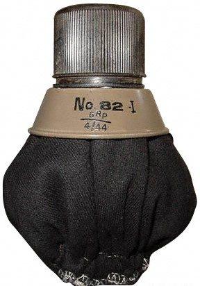 Противотанковая граната №82 в незаполненном ВВ состоянии