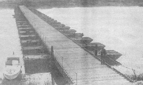 Тяжелый понтонно-мостовой парк ТМП