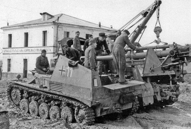 БРЭМ Bergepanzer II
