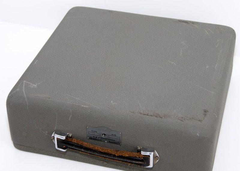 Футляр для шифровальной машины ВС-38