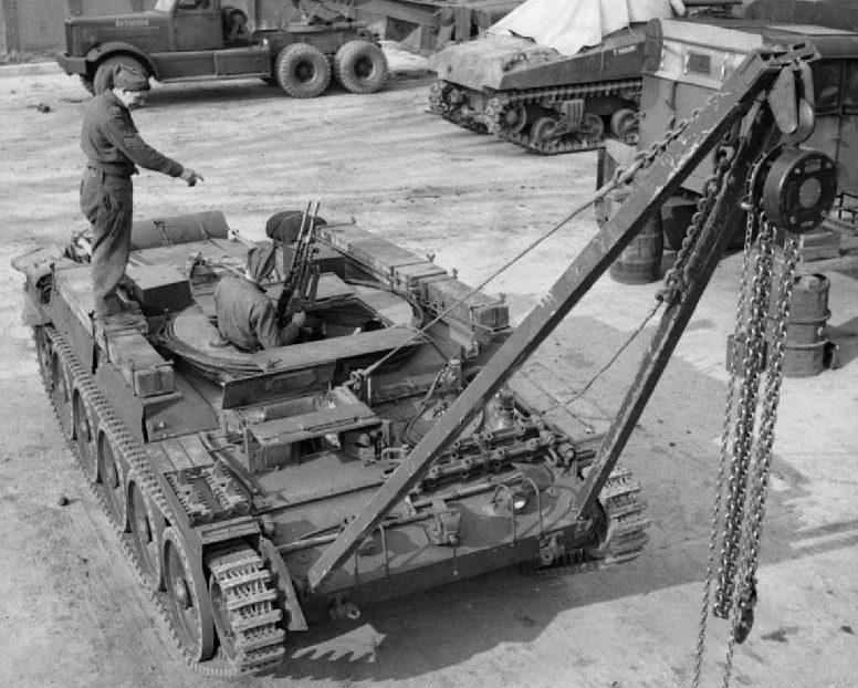 БРЭМ ARV Mk-I Crusader