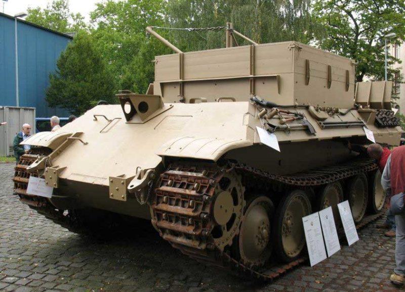 БРЭМ Bergepanzerwagen Panther Ausf.A.