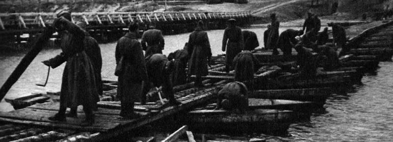 Мост из лодок СДЛ