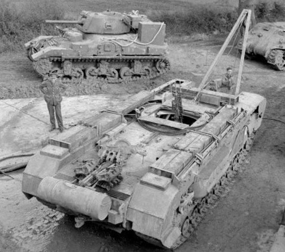 БРЭМ Churchill ARV Mk-I