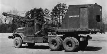 Кран-экскаватор Coleman-based trucks Brockway 6-ton 6×6