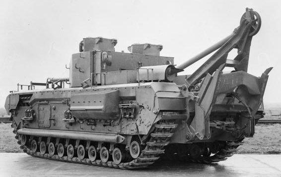 БРЭМ Churchill ARV Mk-II